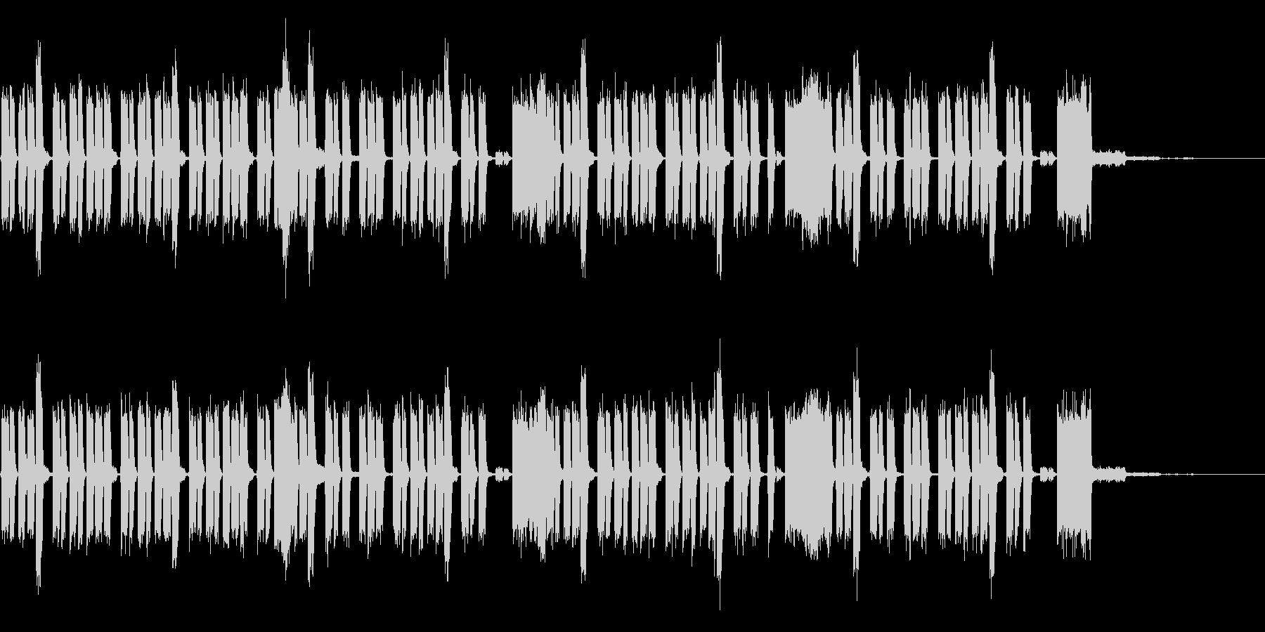 ゲーム向け音源の未再生の波形