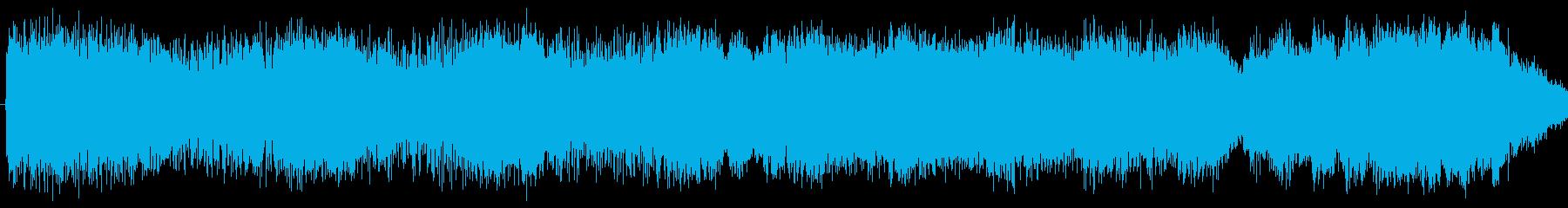 パイプオルガン、シンセ、トランペットを…の再生済みの波形