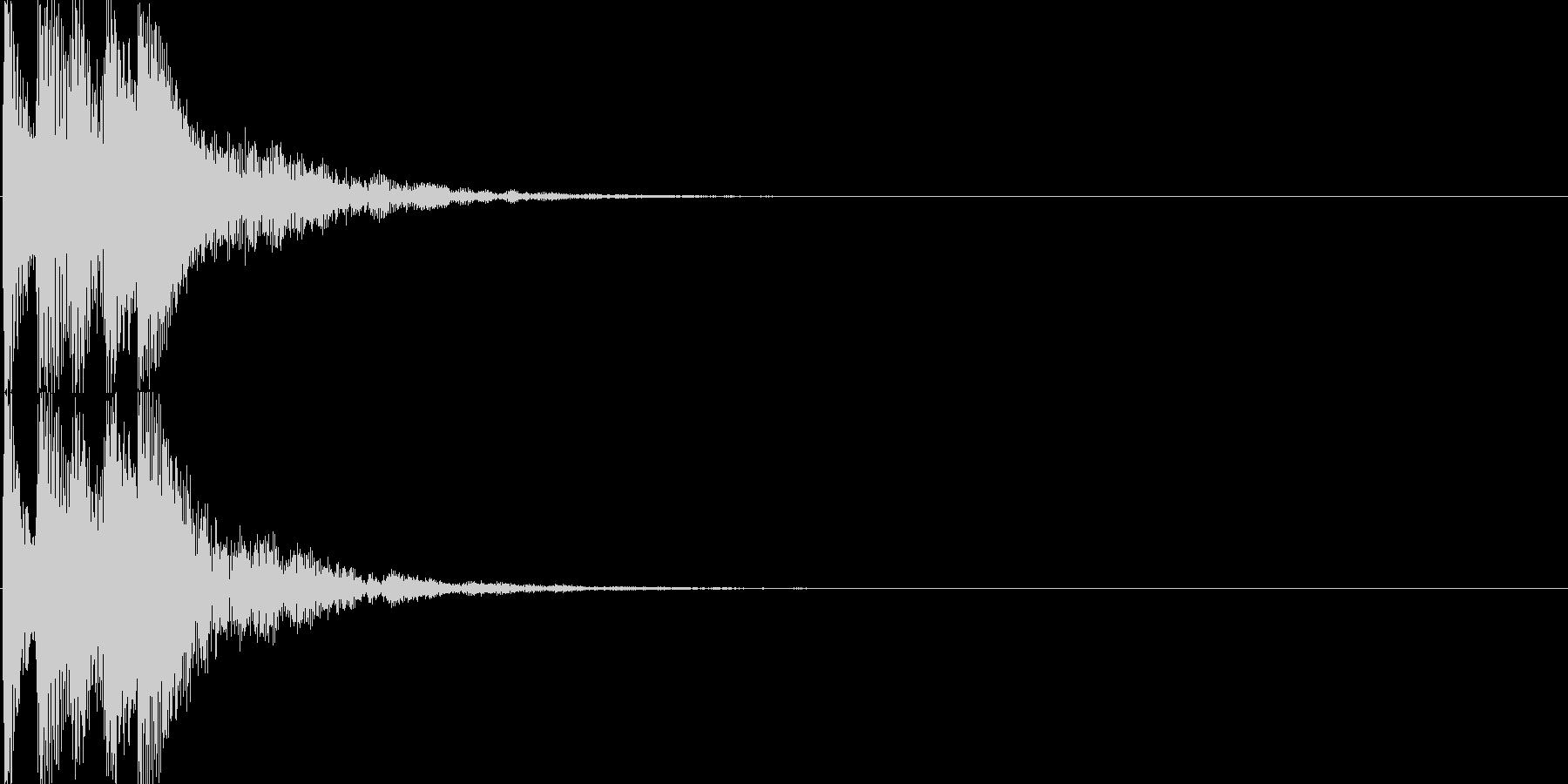 ピコ(ゲーム、アプリなどの操作音05)の未再生の波形