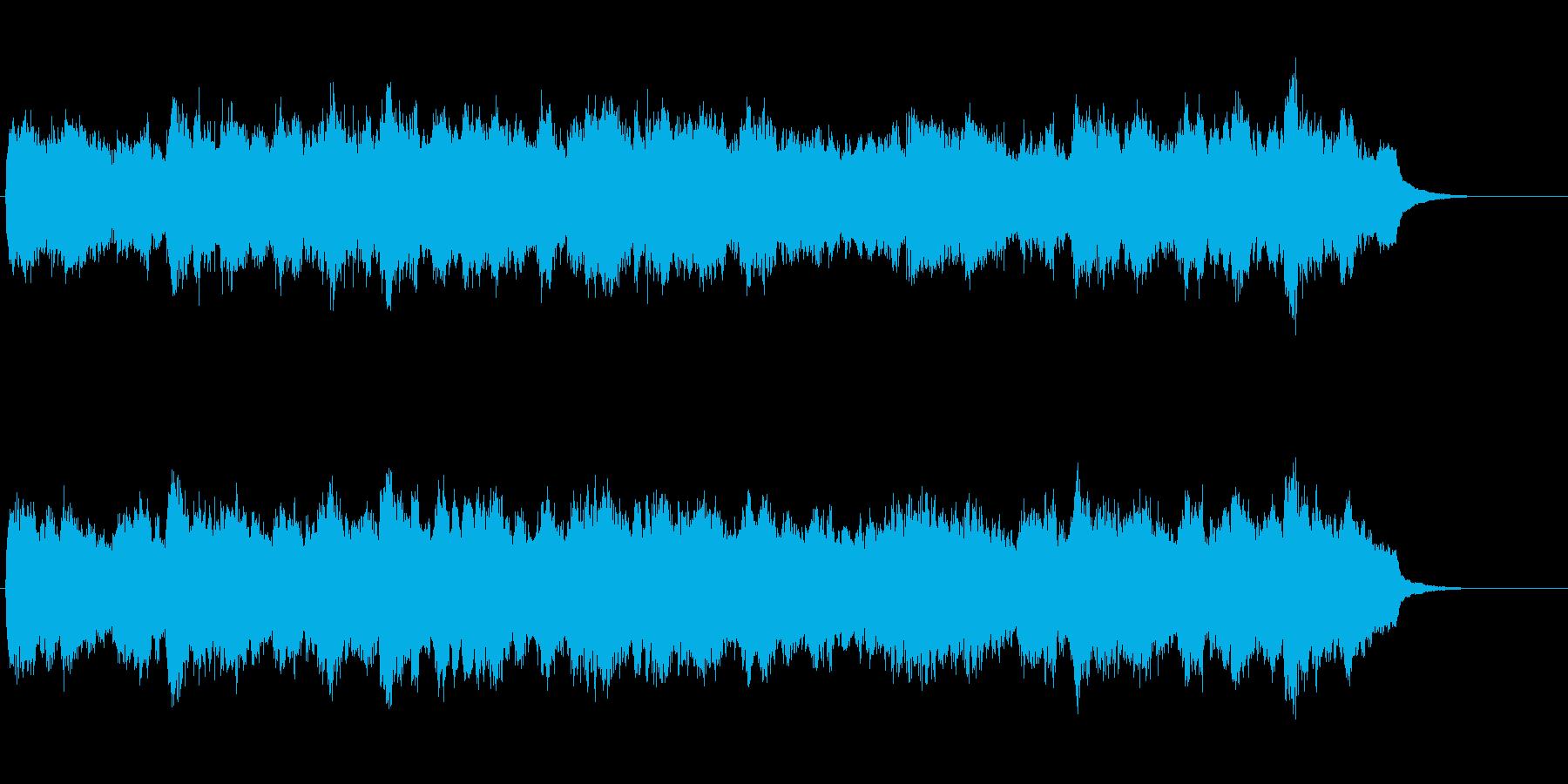 荘厳なセミ・クラシックの再生済みの波形
