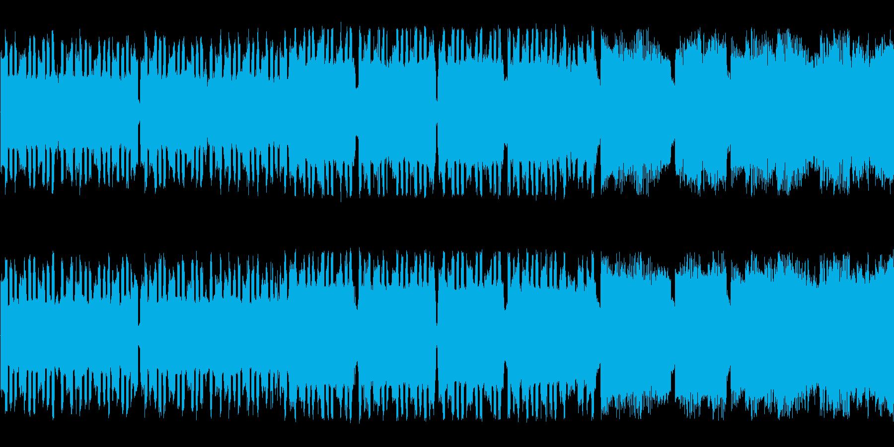 のんびり軽快なチップチューンサウンドの再生済みの波形