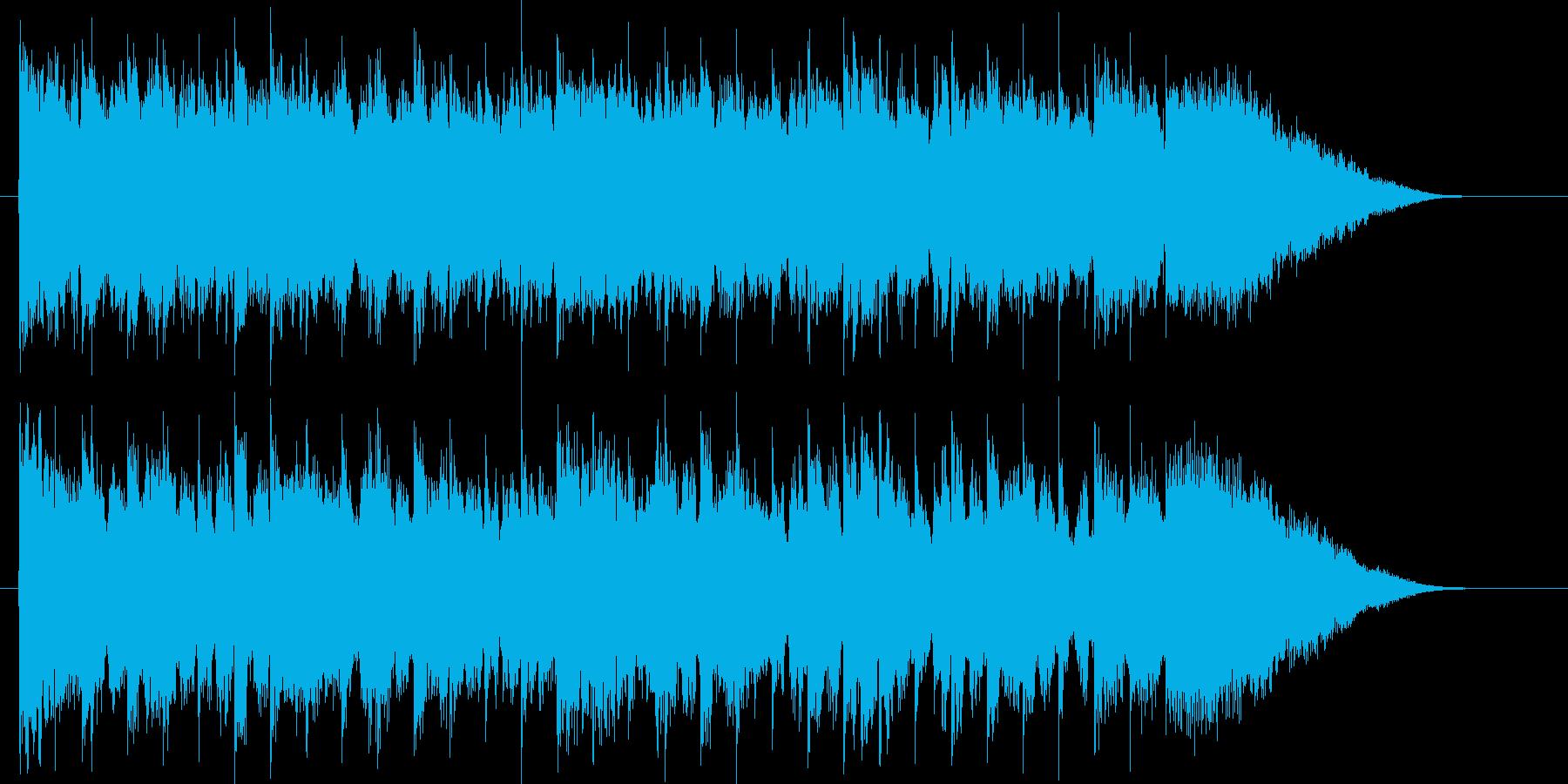 優雅でクラシカルなピアノジングルの再生済みの波形