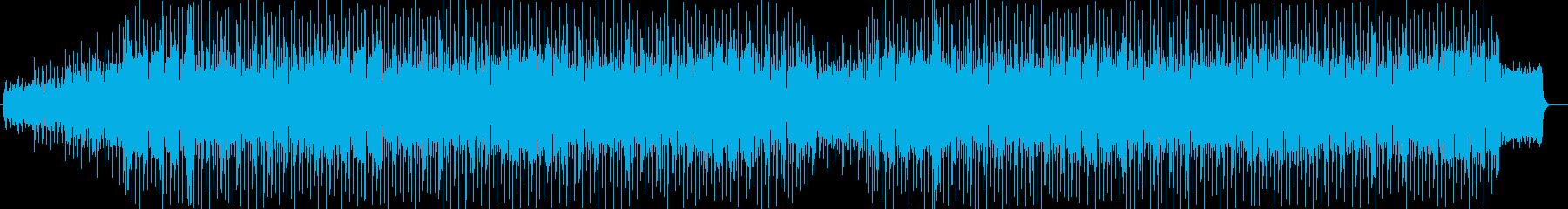 90年代SF作品のオープニング風の楽曲の再生済みの波形