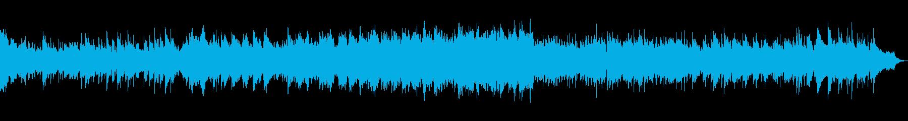 ローズピアノとストリングスが美しい曲の再生済みの波形