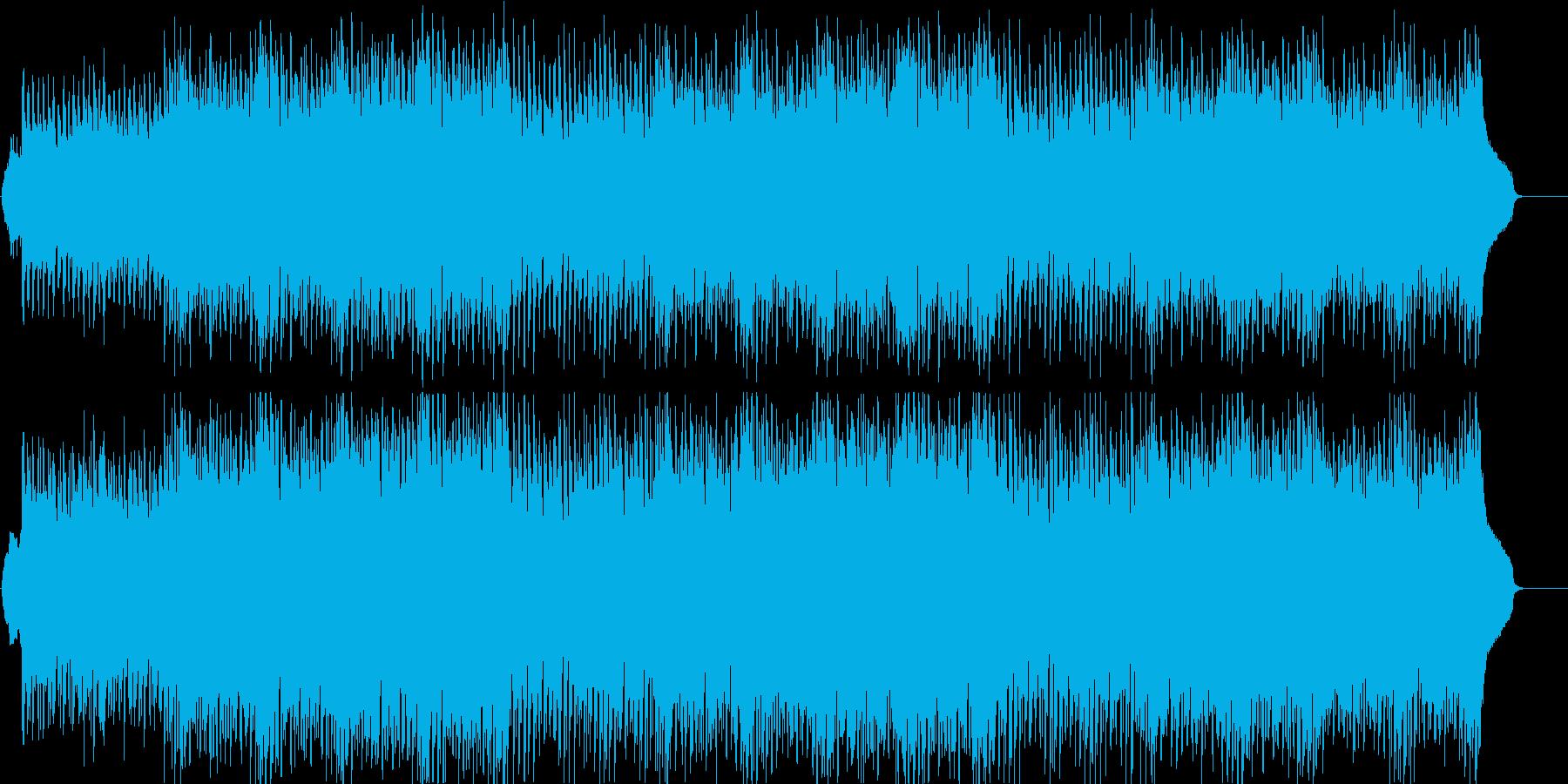 楽しい 軽快 ディスコ テーマの再生済みの波形
