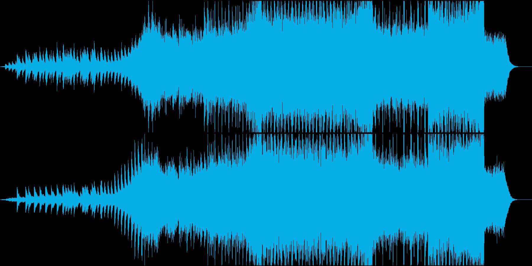 明るい雰囲気のクリスマスBGMの再生済みの波形