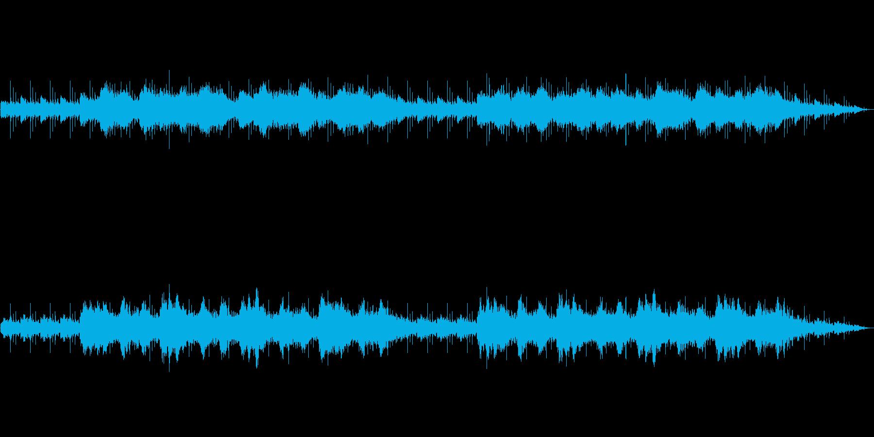 洞窟の神 儀式 瞑想 アンビエントの再生済みの波形