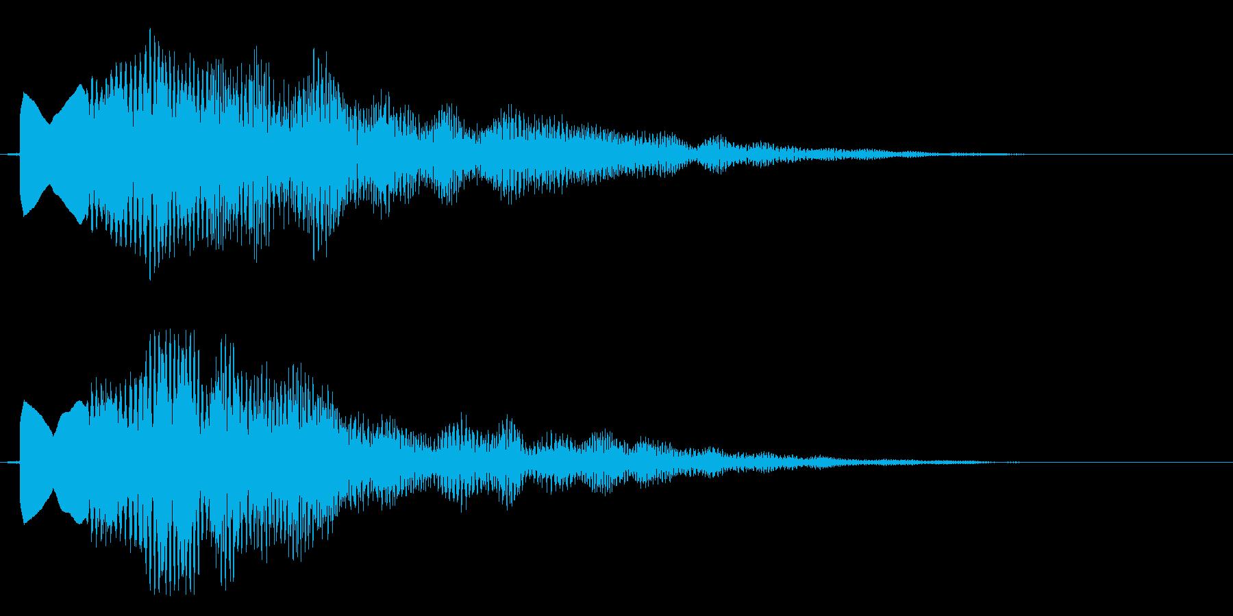 キラリンの再生済みの波形