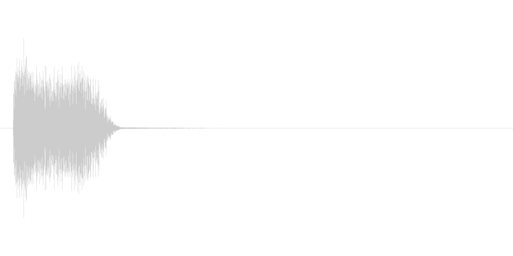 ザシュっ(斬撃、剣、ダメージ)の未再生の波形