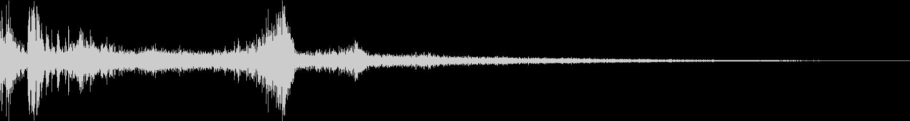 TV RADIO SFX3 雷サウンドの未再生の波形