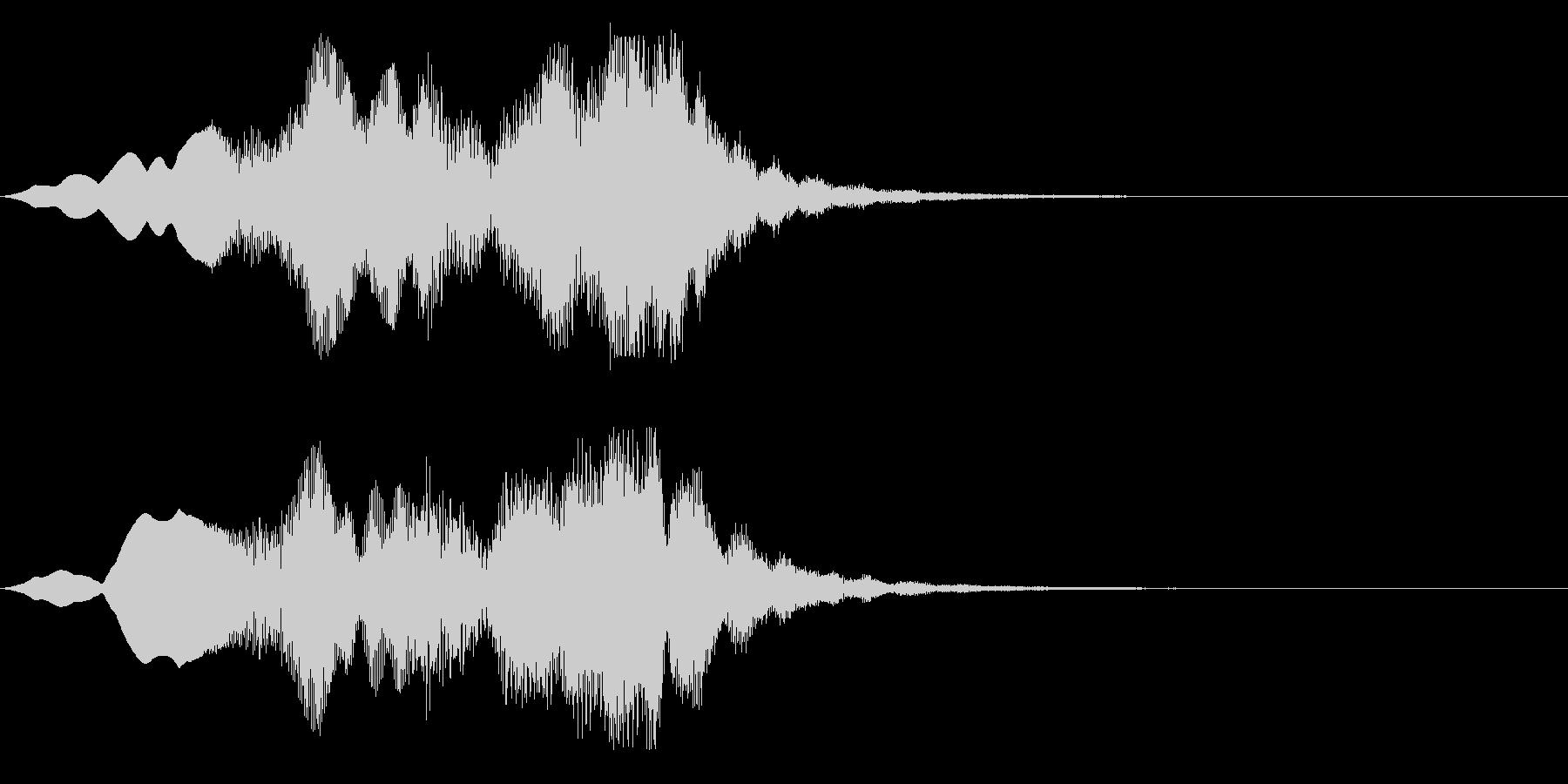 システム系スリープ音の未再生の波形