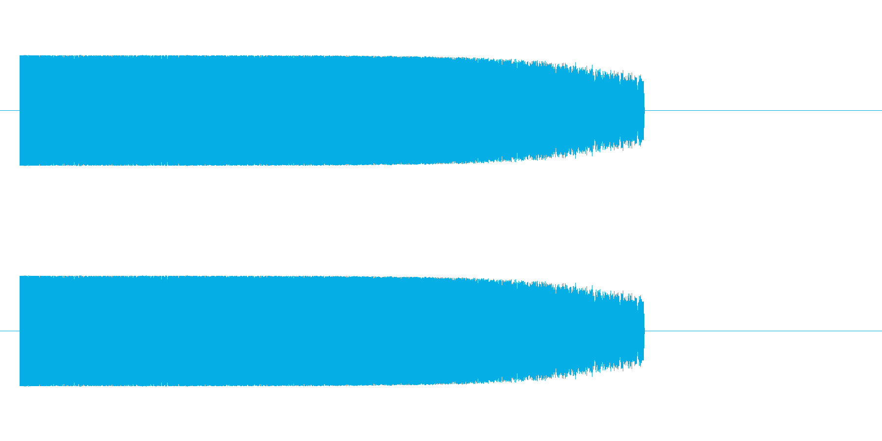 ロボット足音 タイプ6の再生済みの波形