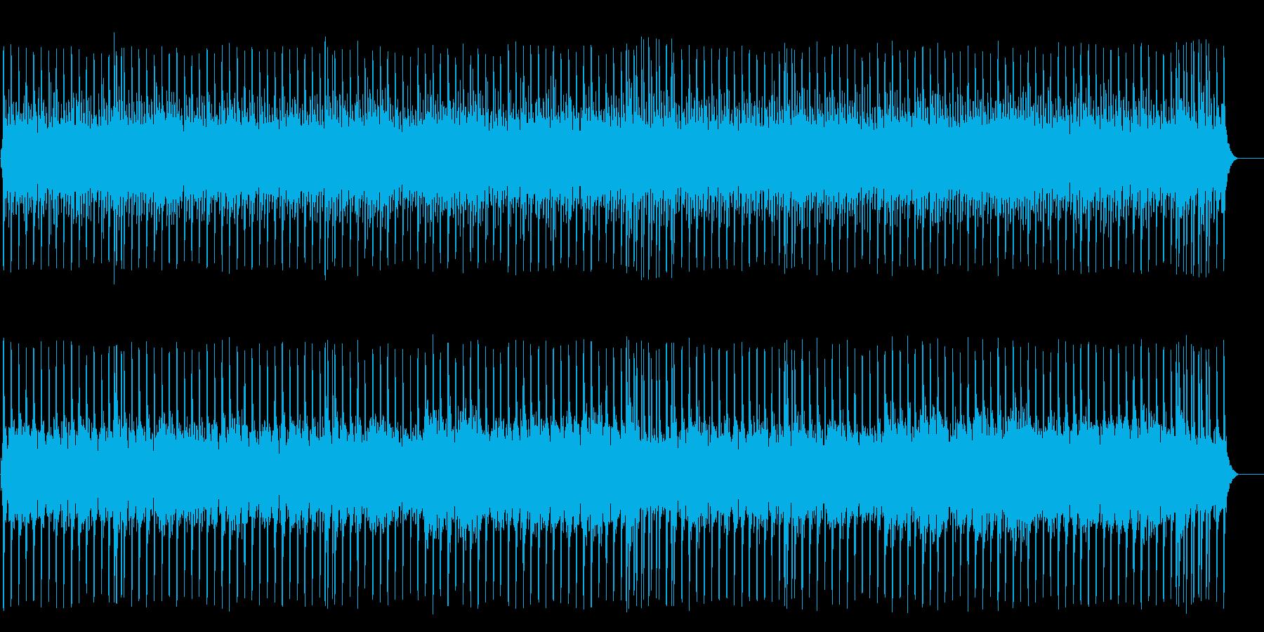 懐古的で温かいセミクラ(フルサイズ)の再生済みの波形