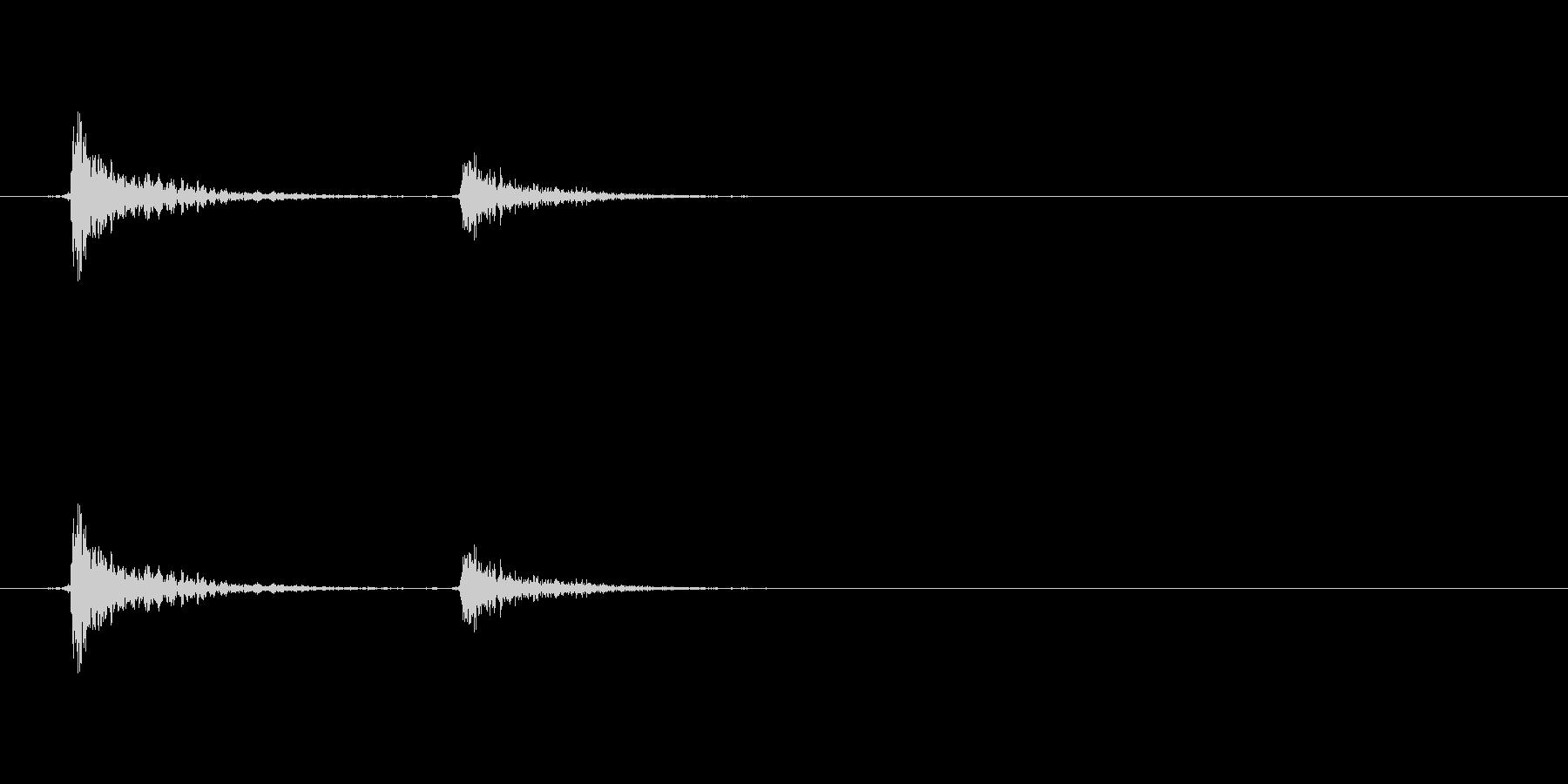 カンカン (ランプの紐)の未再生の波形