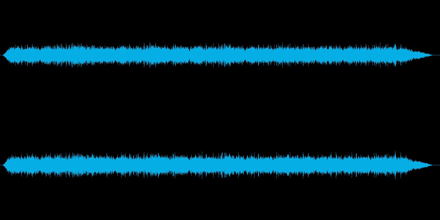 【雑踏 街頭01-1】の再生済みの波形