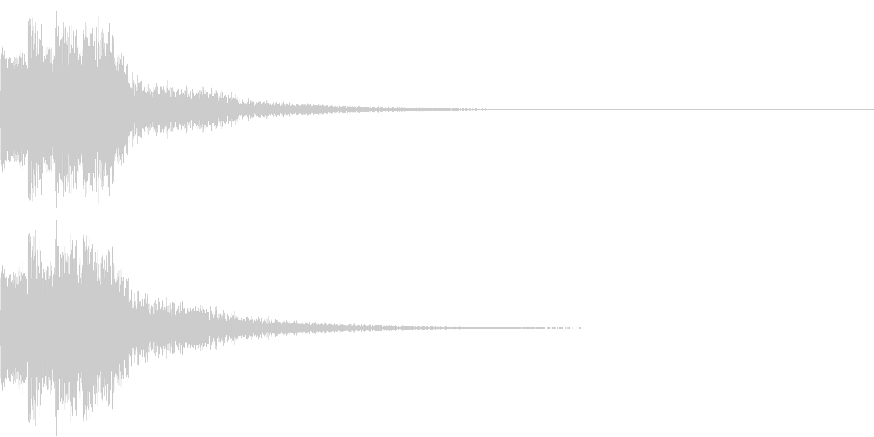 ピコピコ キュルルン ジャンプ Dの未再生の波形