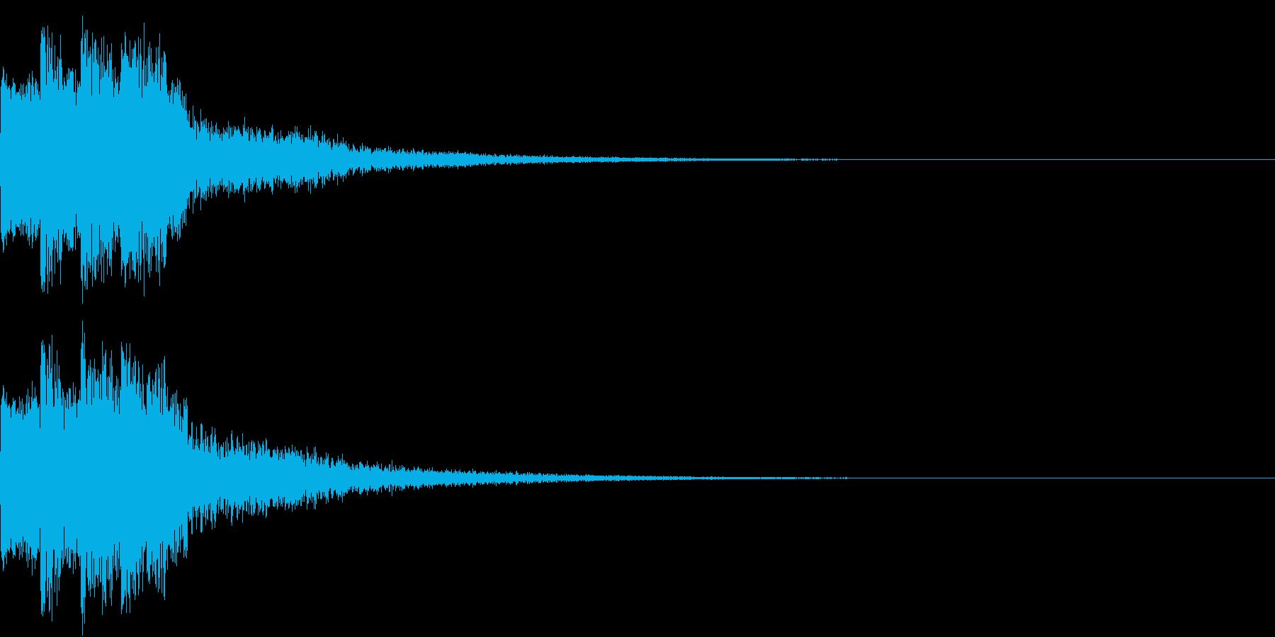 ピコピコ キュルルン ジャンプ Dの再生済みの波形