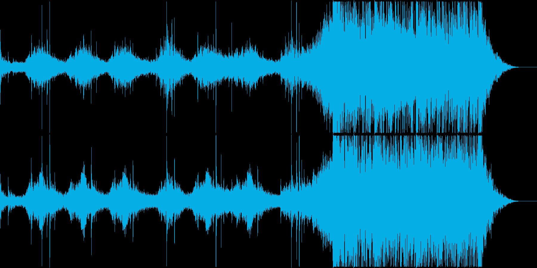 恐怖系/映画・ゲームetc<トレーラー>の再生済みの波形
