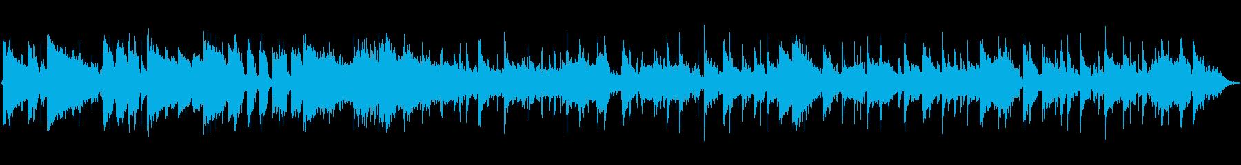 オープニングにぴったりのファンクジングルの再生済みの波形