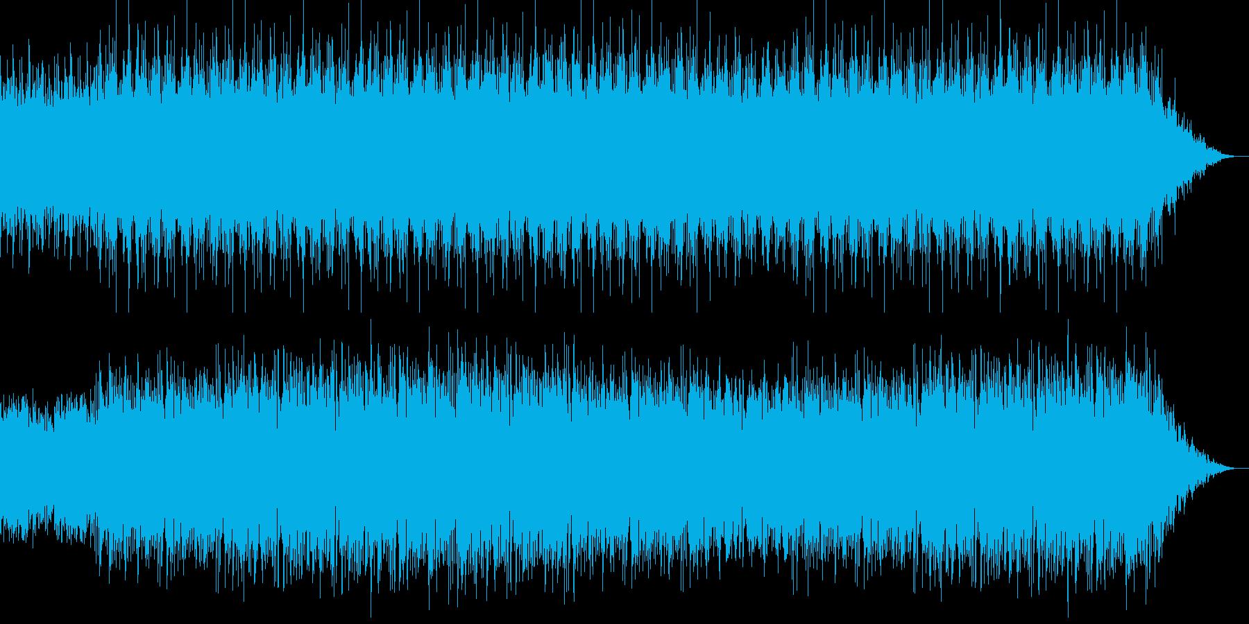タイトル・ほのぼの・ライトの再生済みの波形