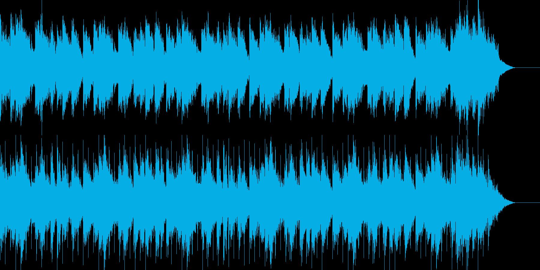 口ずさみたくなる誕生日、バースデーソングの再生済みの波形