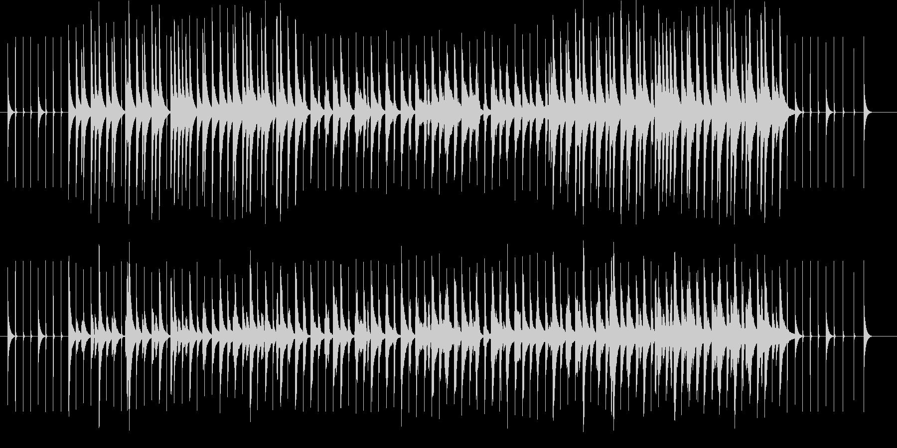 オルゴール楽曲です。大型の色々な楽器が…の未再生の波形