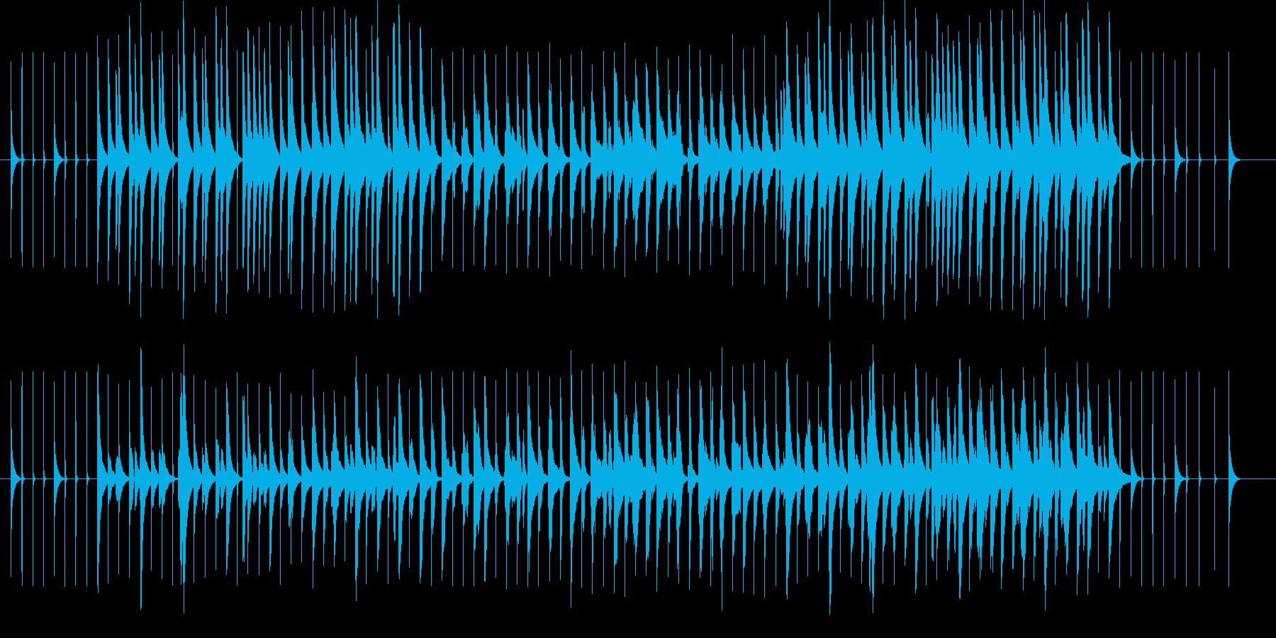 オルゴール楽曲です。大型の色々な楽器が…の再生済みの波形