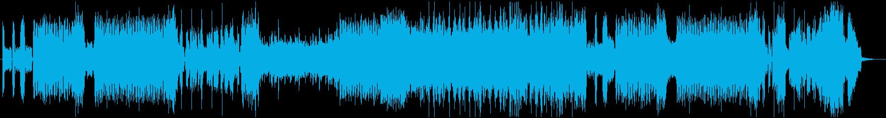 【音ゲー】超疾走感のあるEDMメタル!の再生済みの波形