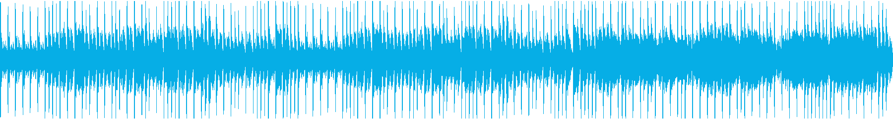 バンジョーとバイオリンの陽気なウエスタンの再生済みの波形