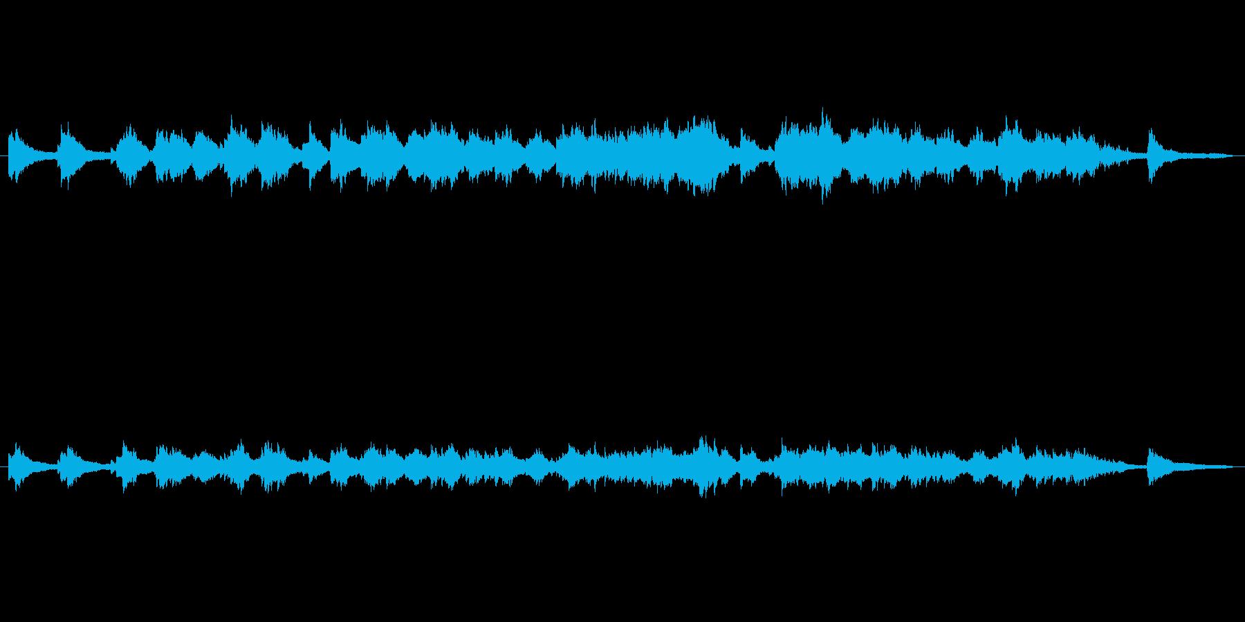 TVドラマ向きピアノソロ楽曲。の再生済みの波形