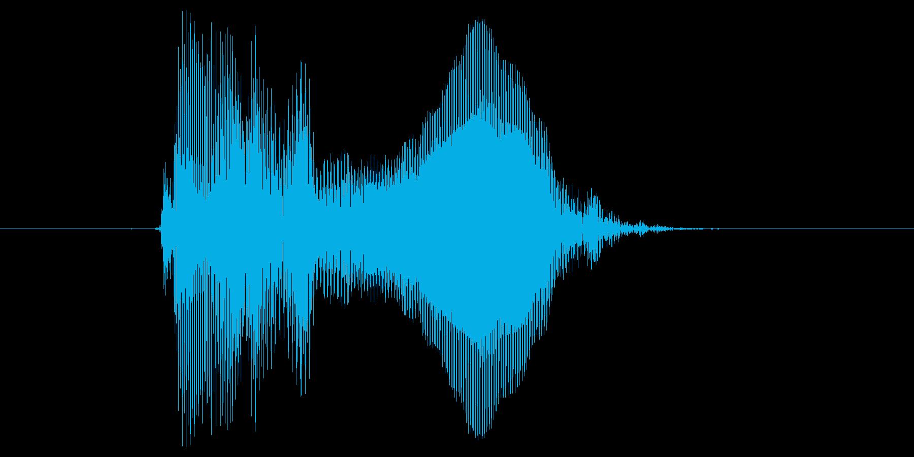 とう!の再生済みの波形