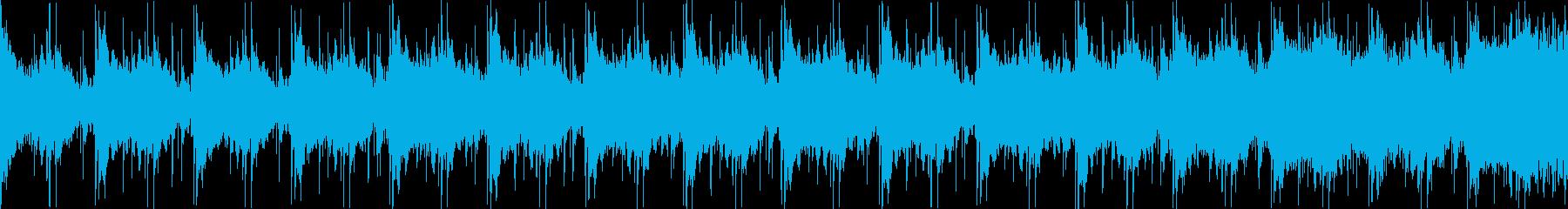 冷たいダンジョンぽい曲 ループバージョンの再生済みの波形