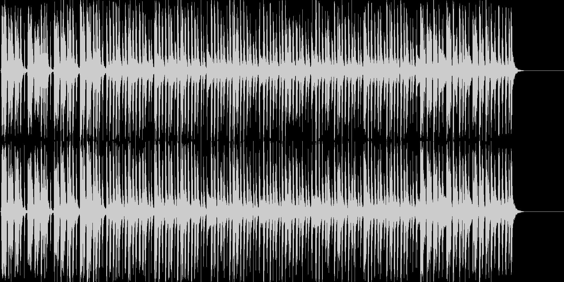 明るく楽しい口笛メインのBGMの未再生の波形