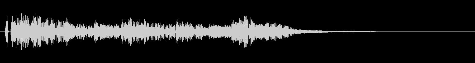 オープニング用ジングル110/ショートの未再生の波形