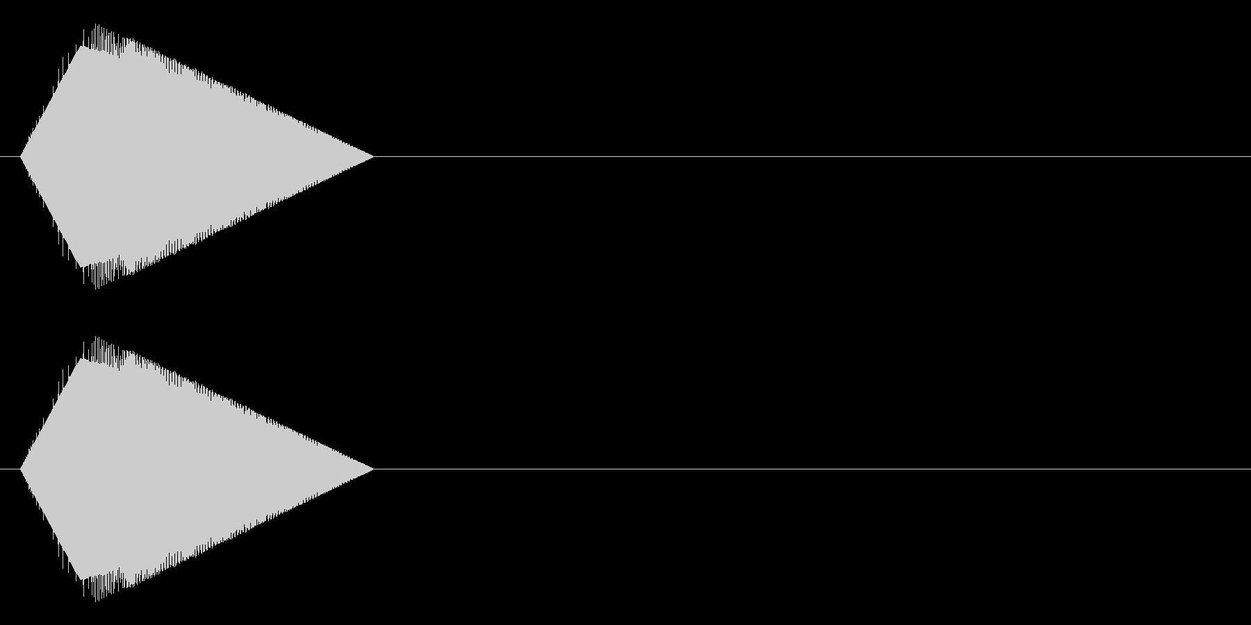 レトロゲーム風・アイテムゲット#3の未再生の波形