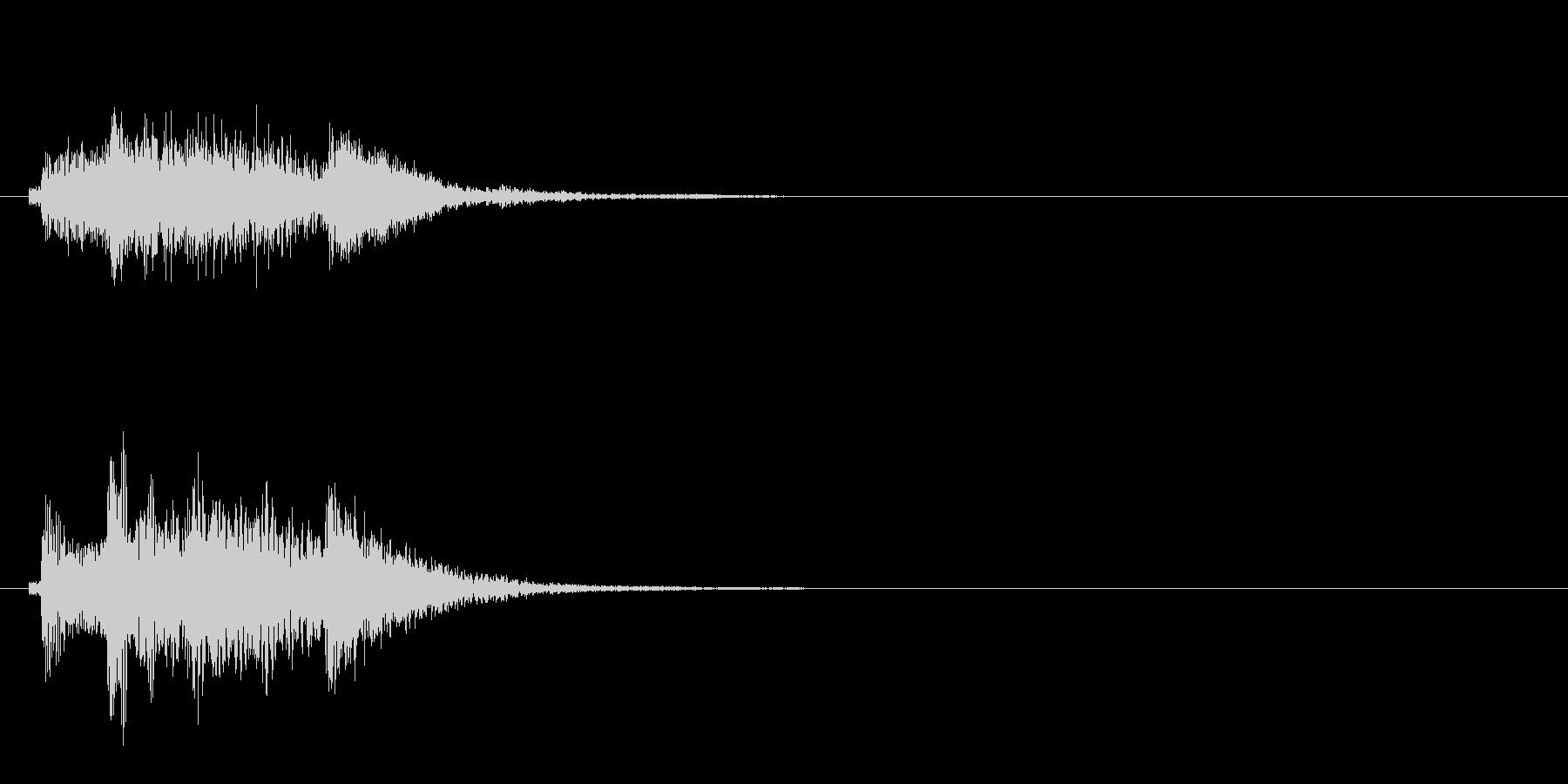 和風3 スタート音 豪華決定音の未再生の波形