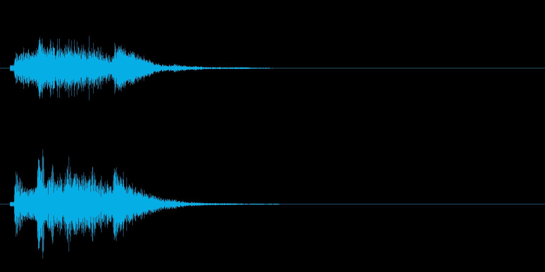 和風3 スタート音 豪華決定音の再生済みの波形