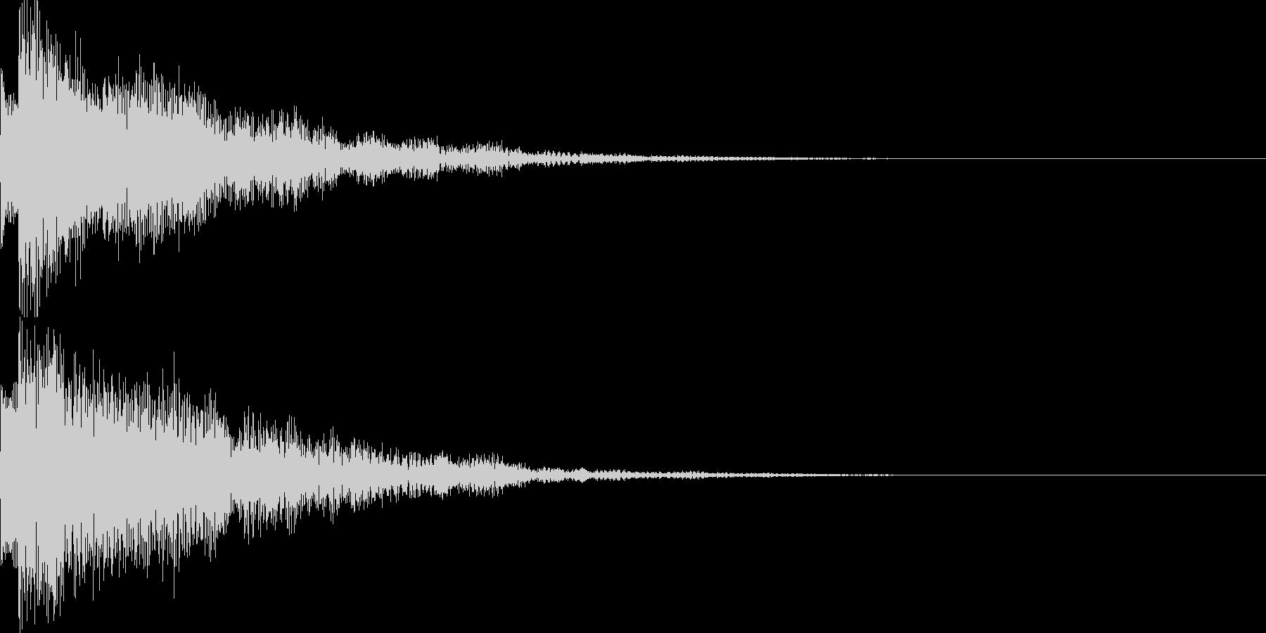 システム音43の未再生の波形