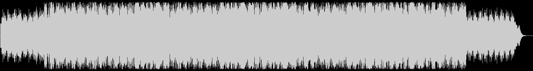 幻想的で和風メローな三味線サウンドの未再生の波形