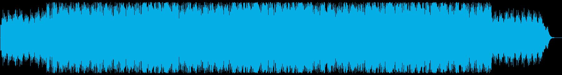 幻想的で和風メローな三味線サウンドの再生済みの波形