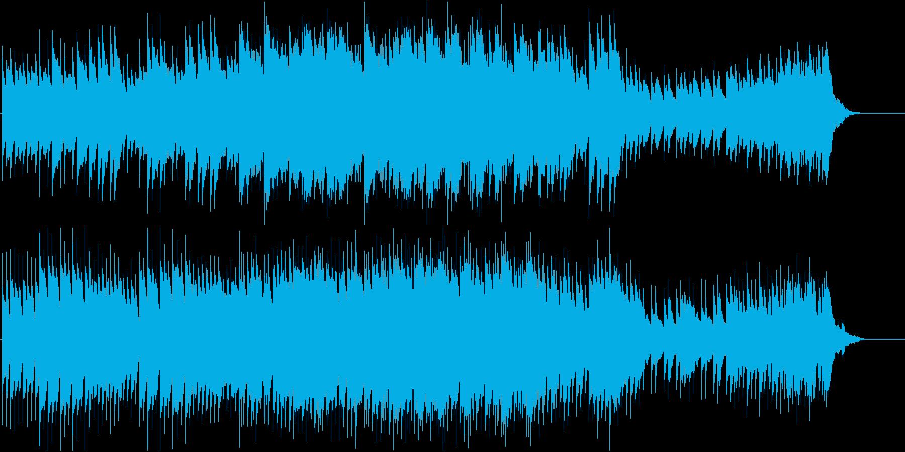 怪しい場面にピッタリの再生済みの波形
