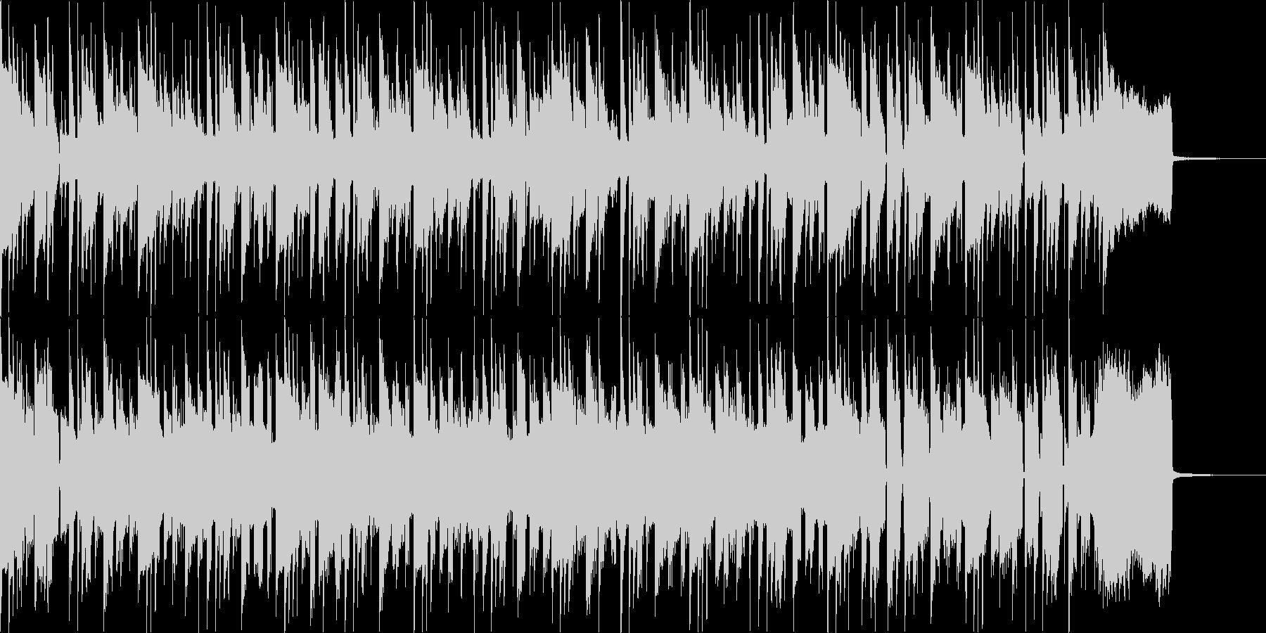 ファンク セッション風 Emの未再生の波形