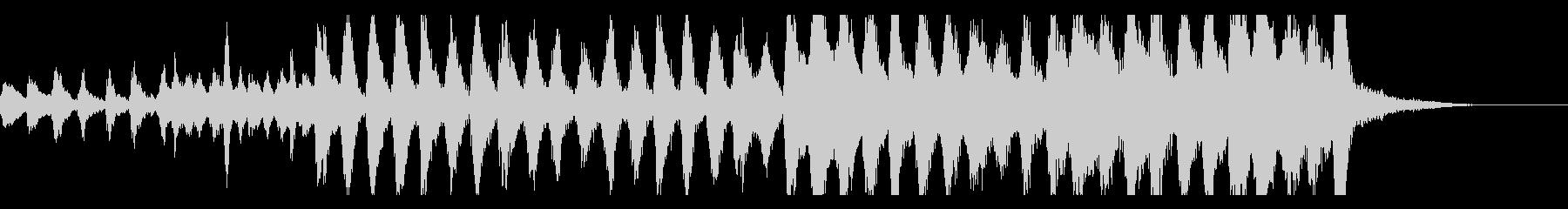 ストリングスとハープのバロック風の未再生の波形