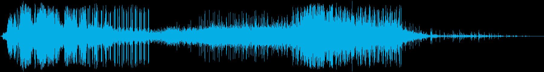ビリビリ!電気 電磁波 パルス 火花1bの再生済みの波形