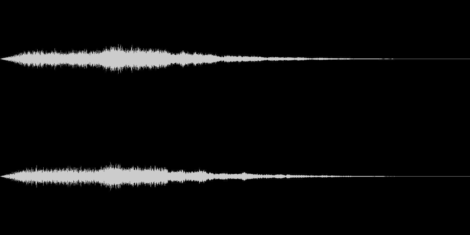 【SE 効果音】奇妙な音2の未再生の波形