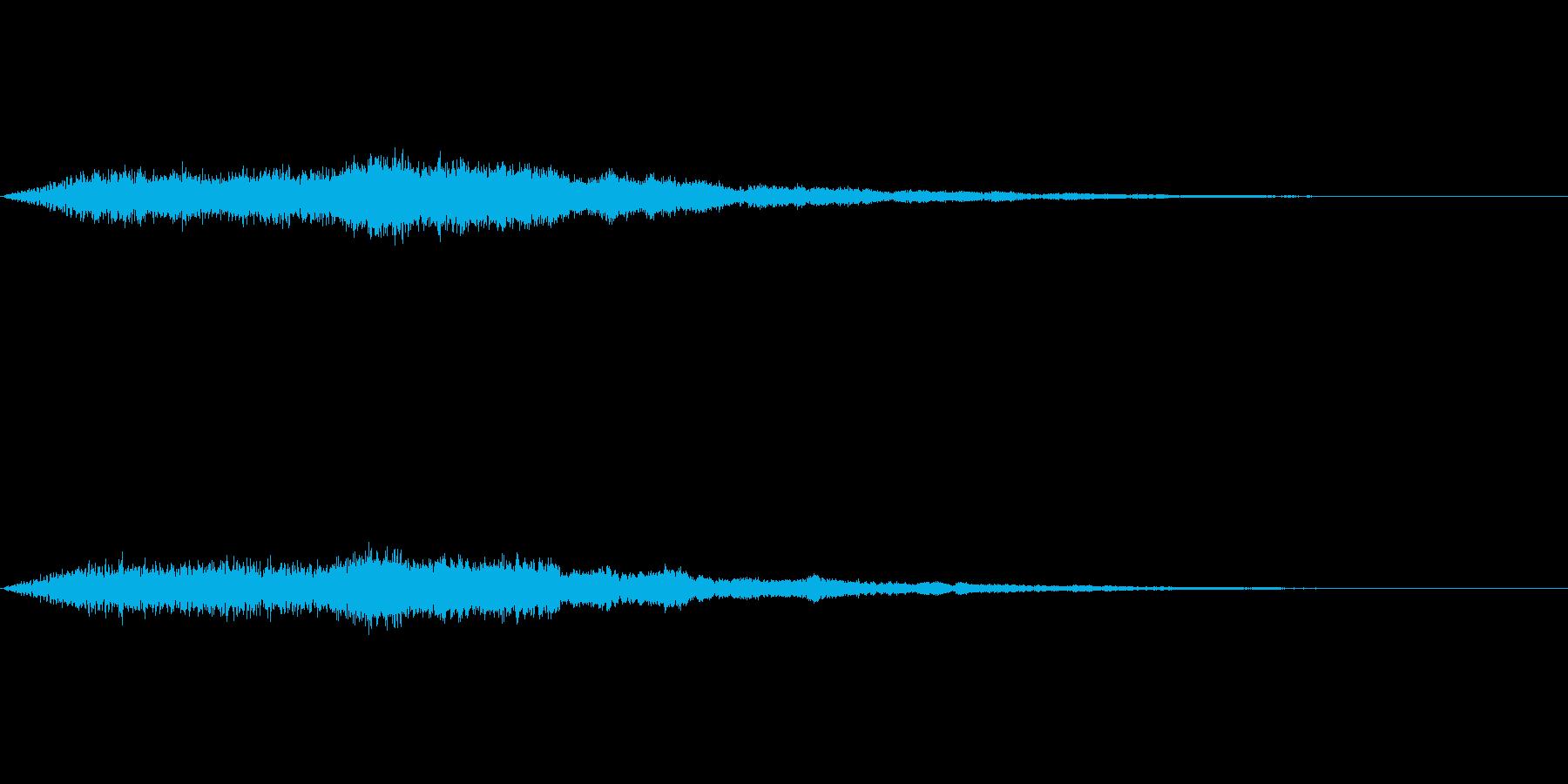 【SE 効果音】奇妙な音2の再生済みの波形