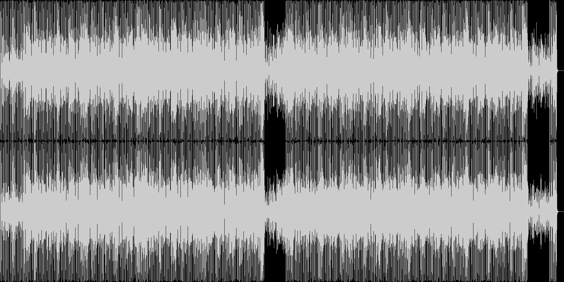 ウクレレをメインとした軽快なBGMです。の未再生の波形