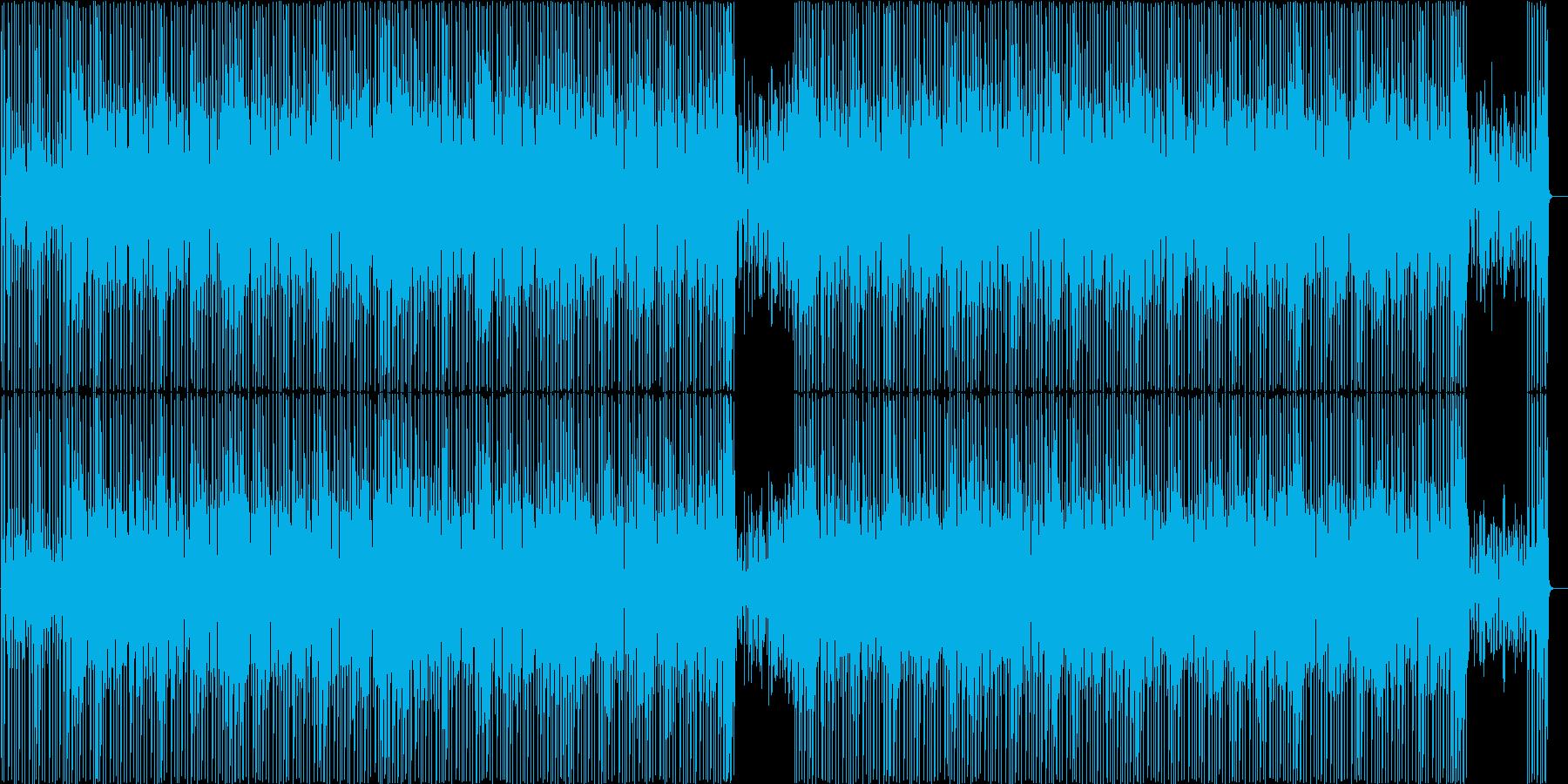 ウクレレをメインとした軽快なBGMです。の再生済みの波形
