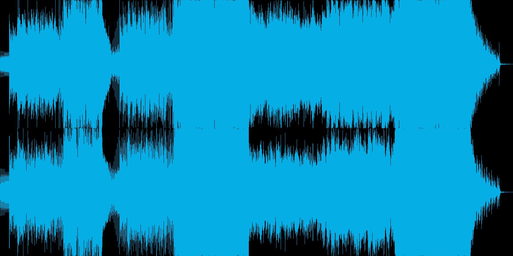 映像系にぴったりな感動壮大オーケストラ風の再生済みの波形