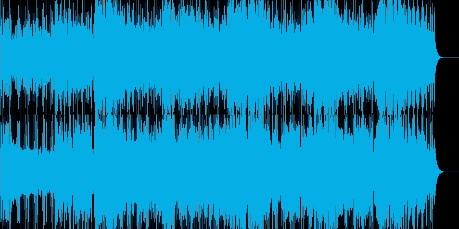 奇妙で幻想的なアンビエントの再生済みの波形